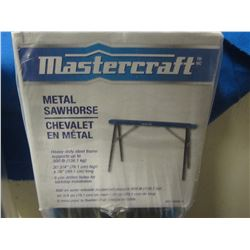 New Mastercraft metal Sawhorse