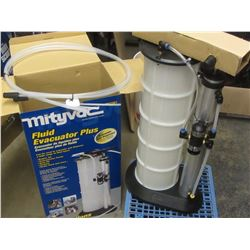 New Mity Vac Fluid Evacuator plus