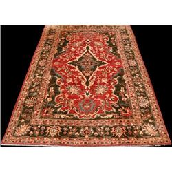 Deeply Detailed Mesmerizing Authentic Afghan Agra 10x14
