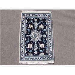 Stunning Authentic Wool/Silk Persian Nain 2x3