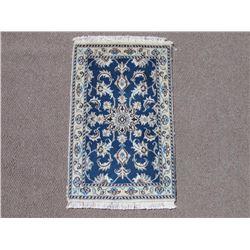 Admirable Premium Quality Wool/Silk Persian Nain 2x3