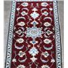 Image 2 : Fine Hand Woven Silk Blended Persian Nain rug 5x3