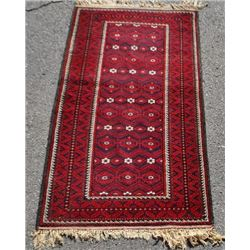 Fine Quality Hand Woven Authentic Persian Balouch 3x7