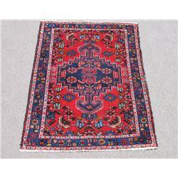 Simply Beautiful Semi Antique Persian Hamadan Rug 3x4