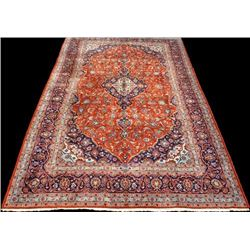 Gorgeous Hand Woven Persian Kashan 8x12