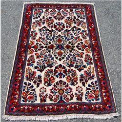 Finely Done Elegant Design Persian Sarouk 3x5