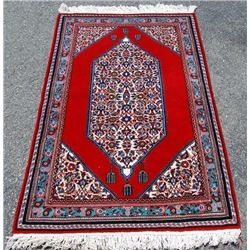 Very Beautiful Diamond Shaped Persian Najafabad 3x5