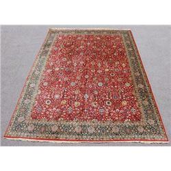 Simply Beautiful Fine Quality Semi Antique Tabriz Design