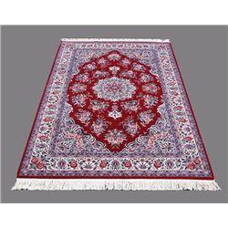 Fascinating Sultani Handmade Tabriz Rug 6x9