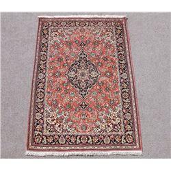 Investment Breathtaking Quality Silk Persian Qum 4x5