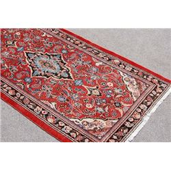Extremely Rare Hand Woven Semi-Antique Persian Mahal