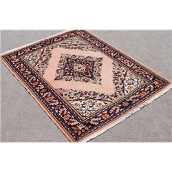 Extremely Detailed Handmade Semi Antique Persian Lilian