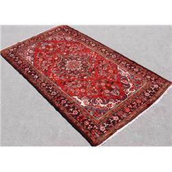 Semi Antique Hand Woven Persian Sarouk