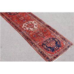 Exquisitely Fine Quality Persian Heriz Runner