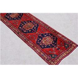 Simply Gorgeous Fine Quality Persian Heriz Runner