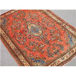 Highly Detailed Hand Woven Semi Antique Persian Lilian 7x10