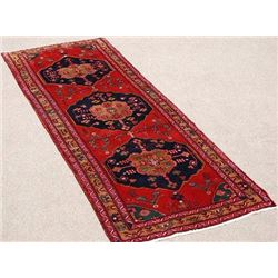 Hand Woven Fine Persian Ahar Runner 11 ft