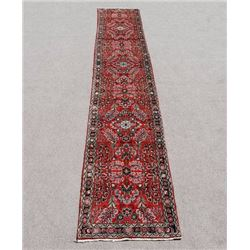 Highly Detailed Floral Design 16' Malayer Runner