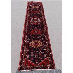 Fine Quality Dazzling 3.3 X 17.3 feet Persian Zanjan Runner