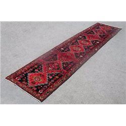 Lovely All Natural Hand woven Persian Zanjan Runner 15ft
