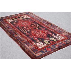 Splendid Semi Antique Handmade Persian Kermanshah 5x9