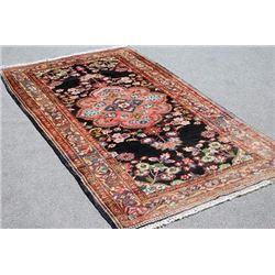 Delightful and Intricate Hand woven Persian Arak 4x9