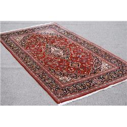 Collectible and unique Hand woven Persian Kashan Rug