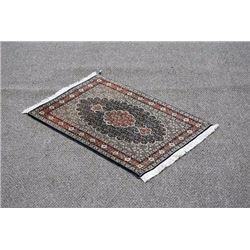Exquisite Fine Quality Handmade Persian Tabriz Rug on Silk and Wool Pile