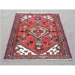 Hand Made Persian Rug 4x3