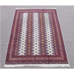Intricate Knotted Vintage Yomut Turkman Tribal 10x7