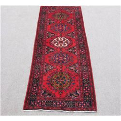 Stunning Hand Woven Semi Antique Persian Hamadan Rug 11ft