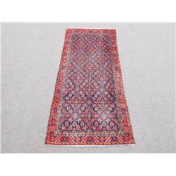 Simply Gorgeous Semi Antique Persian Malayer 4x9