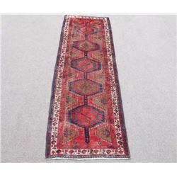 Captivating Handmade Semi Antique Persian Sarab 11ft