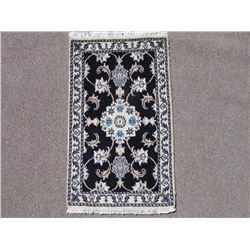 Highly Collectible Handmade Wool/Silk Persian Nain 2x3