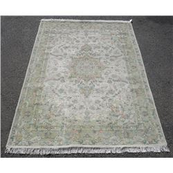 Fascinating Premium Quality Wool/Silk Persian Tabriz 7x10 ft