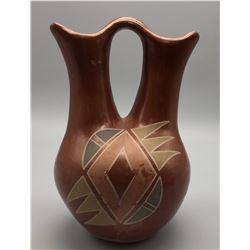 Vintage Santa Clara Wedding Vase