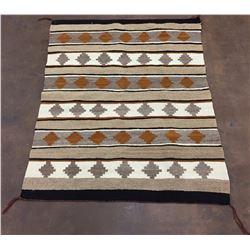 Vintage Navajo Textile - Natural Dye