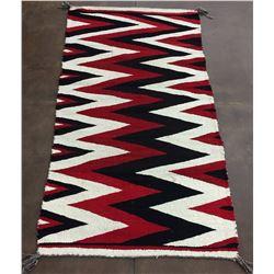 Vintage Navajo Textile - Eye Dazzler