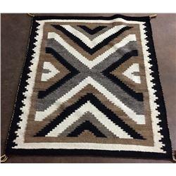 Vintage Navajo Textile - Two Grey Hills