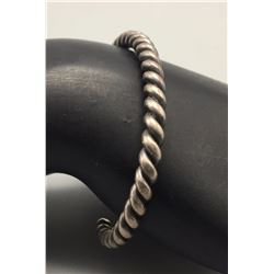Twisted Wire Sterling Bracelet