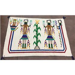 Navajo Yeibachei Textile - Circa 1960s