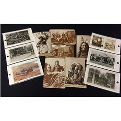 Group of Old Western - Native Post Cards