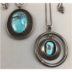 Pair of Vintage Turquoise Necklaces