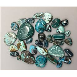 Approx. 500 Cts. Webbed Turquoise