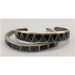Pair of Vintage Inlay Bracelets