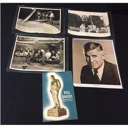 Original Will Rogers Family Photos, etc.