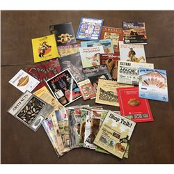 Group of Western Related Magazines, Booklets, Auction Catalogs
