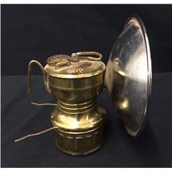 Vintage Carbide Miner's Lamp
