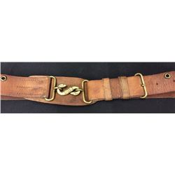 WWI Military Snake Buckle and Belt