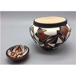 Pair of Pueblo Pots
